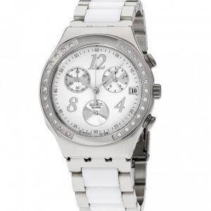 Swatch Irony Stainless Steel Swiss Quartz Watch